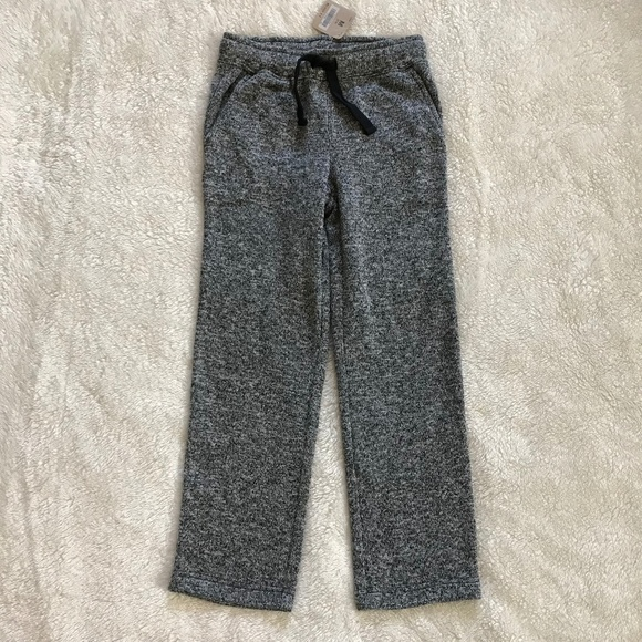 8ebf55cc74 Crazy 8 Boy's Gray Fleece Jogger Pants NWT M (7-8) NWT